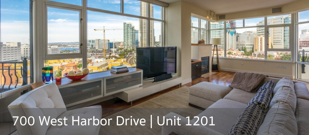 700 West Harbor Drive | Unit 1201