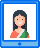 our virtual Hindi classes include live instruction