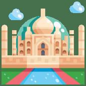 The Taj Mahal as part of cultural learning in Hindi class
