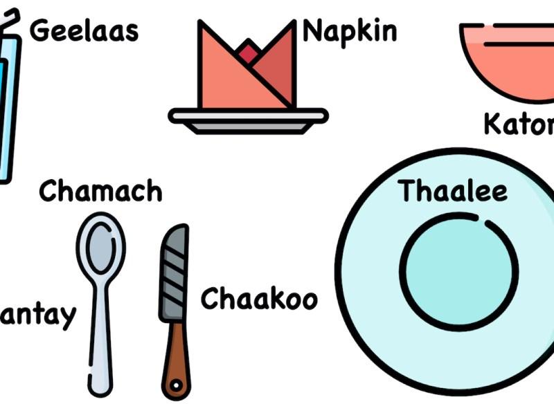 Conversational Hindi Ding Vocabulary