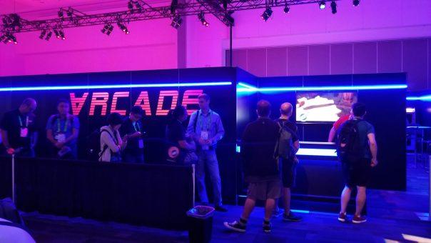 VR Arcade - Siggraph 2018