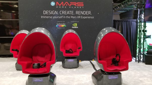 Hp Mars Expedition VR - Siggraph 2018
