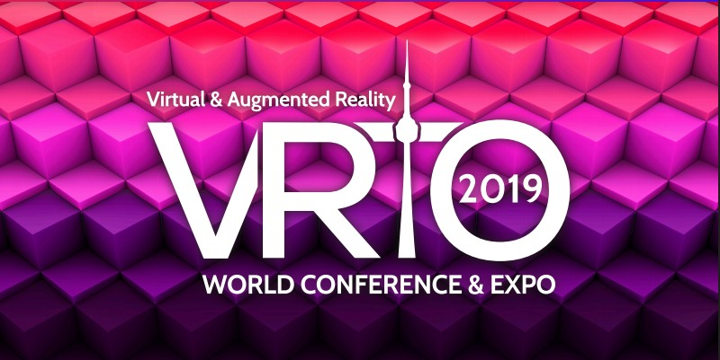 VRTO 2019 VR Virtual Reality and Augmented Reality Tech Conference & Exhibition