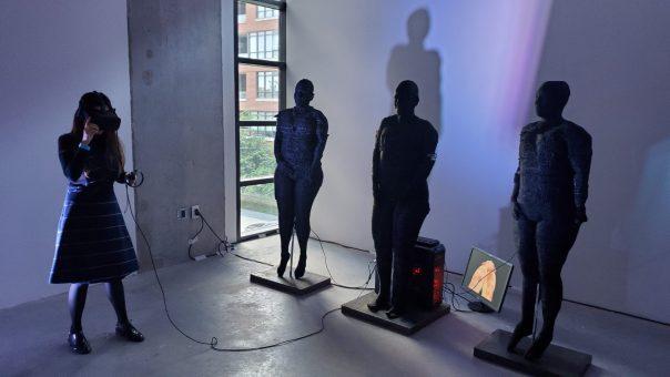 Marilene Oliver installation at FIVARS 2019