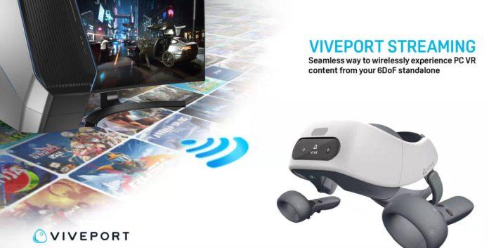 HTC Vive Viveport Streaming