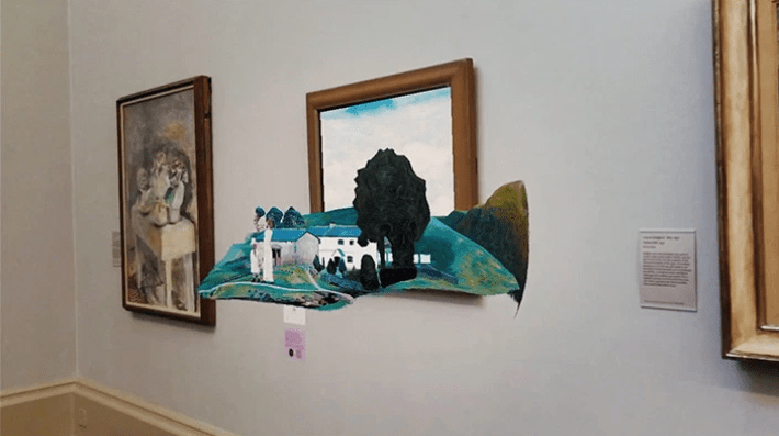 Spark AR Experience at Tate Museum