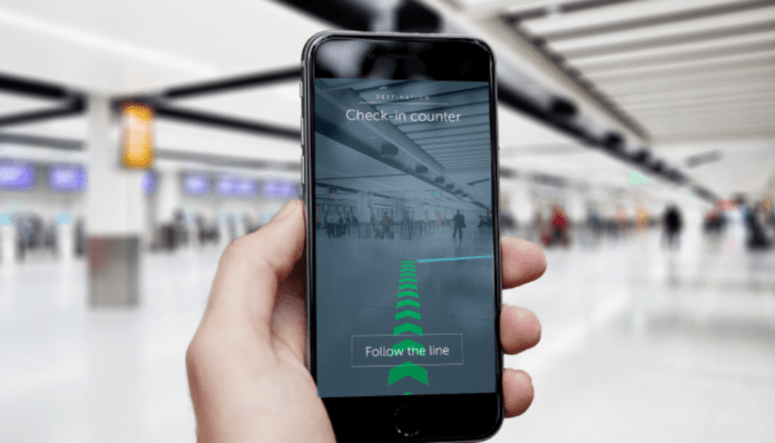 Augmented Reality Wayfinding in Airports
