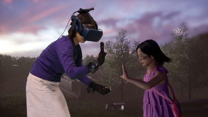 Mother Daughter Virtual Reality Union