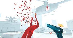 Superhot VR on PlayStation