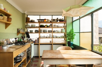 Quick Kitchen Upgrade: Open Shelving