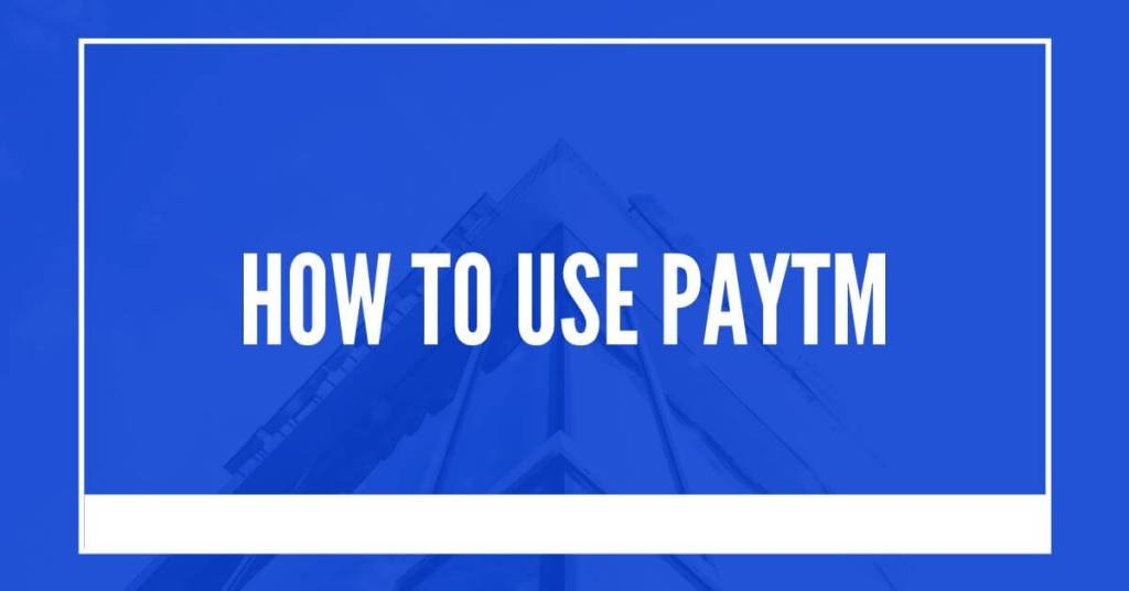 How to use PayTm and change upi pin through app