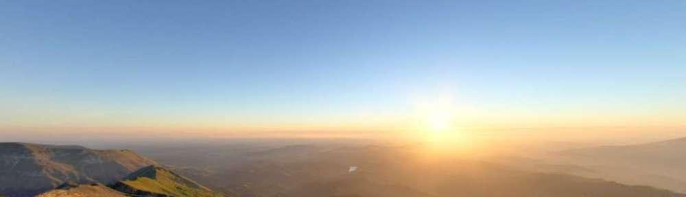 Monte Vettore all'alba