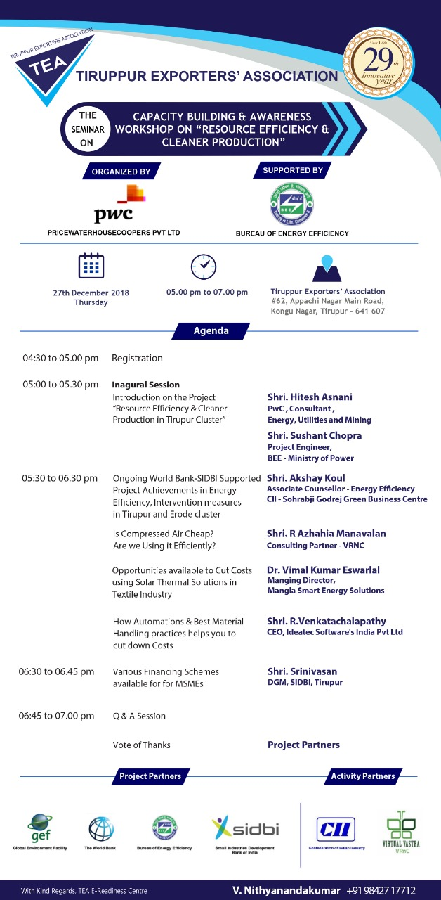 27th Program Agenda