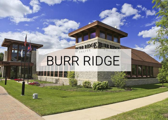 Burr Ridge Village in Illinois