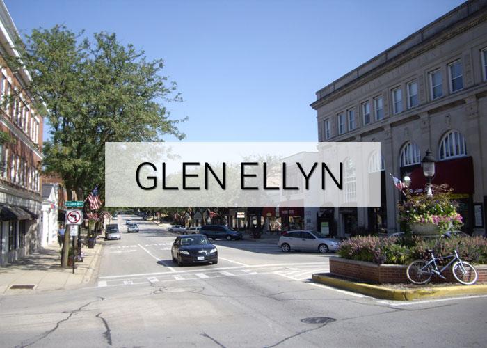 Glen Ellyn Village in Illinois