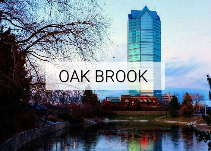 Oak Brook Village in Illinois