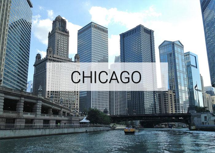 Chicago City in Illinois