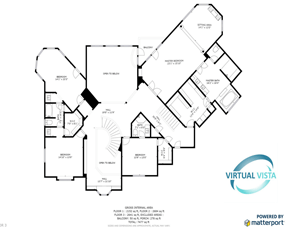2D Floorplans for real estate