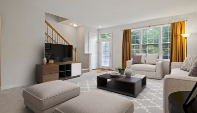 Virtual Staging Before and After 3D Model