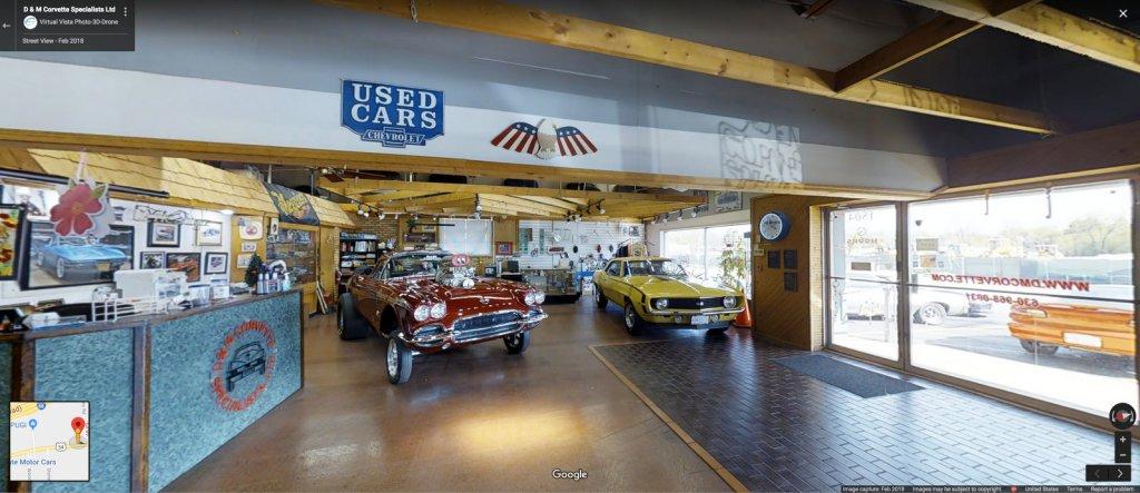 Google Street View of Corvette Dealer