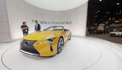 360° Virtual Tour Of The 2020 Lexus LC Convertible