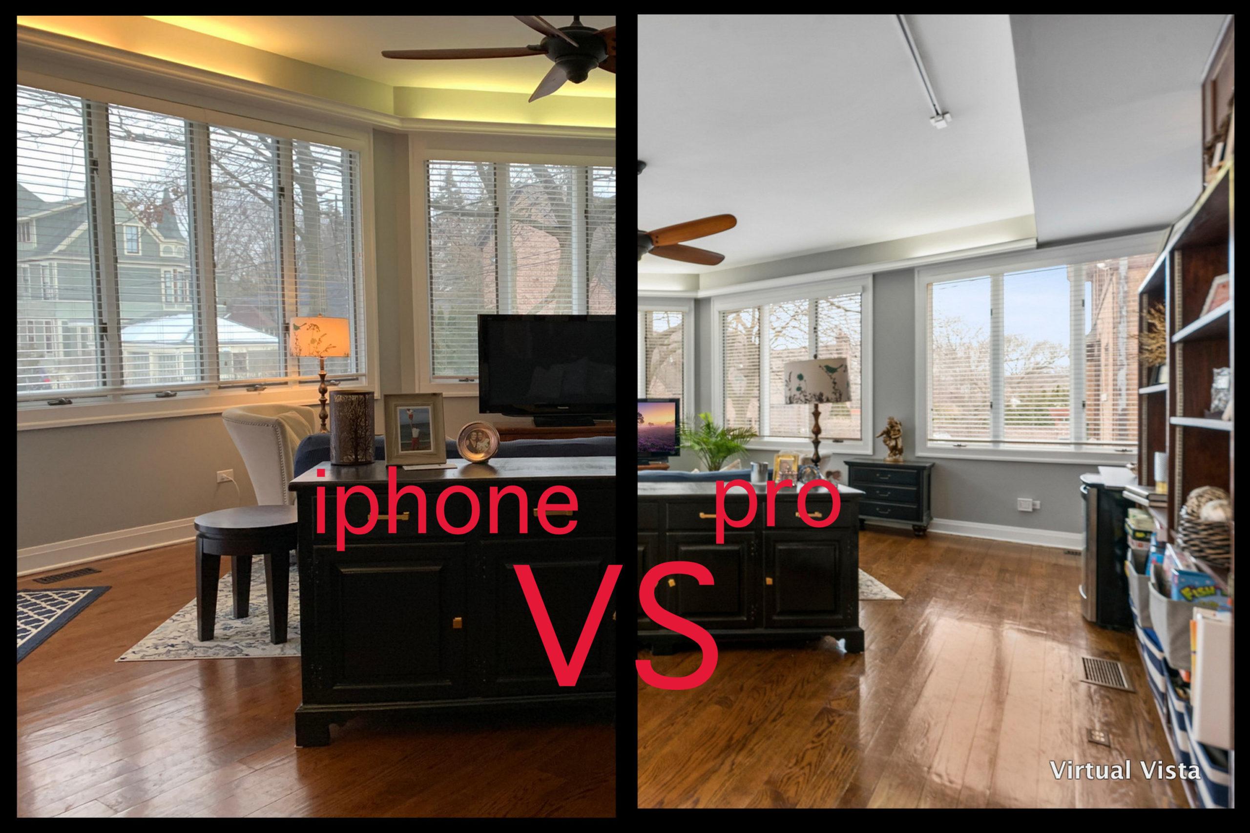 iphone vs pro photography