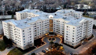 Senior Living Apartment Complex 3D Model