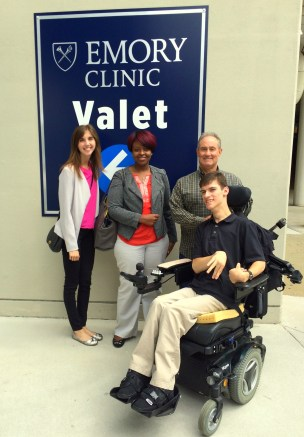 At the Emory Clinic Valet Parking