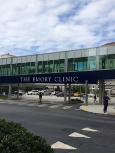 September 16, 2015; The Emory Clinic @ Emory University