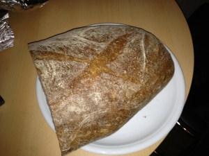 halbes teures Brot