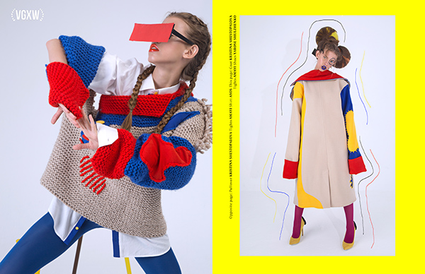 Quirky fashion editorial by Evgeny Sharapov | VGXW by Virtuogenix