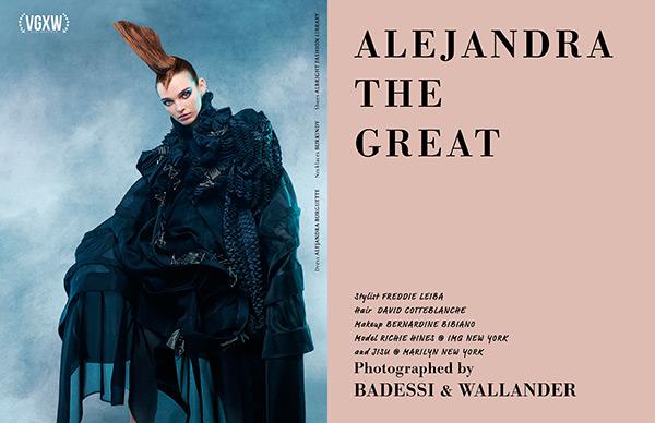 VGXW Magazine - October 2017 - Book 2 - Fashion editorial by Badessi & Wallander