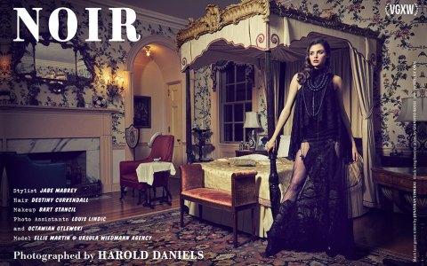 [VGXW Magazine] Style Editorial: Noir by Harold Daniels   virtuogenix.online
