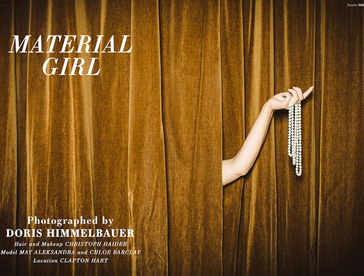 VGXW Magazine Style Editorial | Material Girl by Doris Himmelbauer - virtuogenix.online
