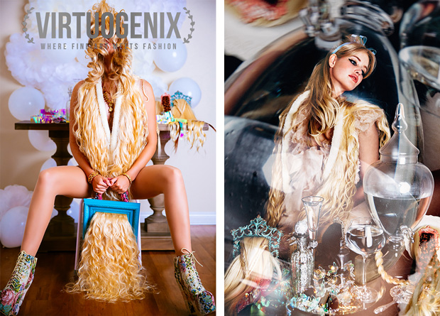 Inside Virtuogenix Issue 00: Angel Hair starring Terese Pagh by Miu Vermillion