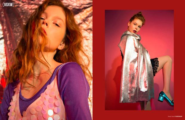 Beauty Editorial by Ann Grachkova for VGXW Magazine