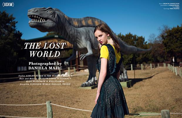 Style editorial by fashion photographer Daniela Majic for VGXW Magazine