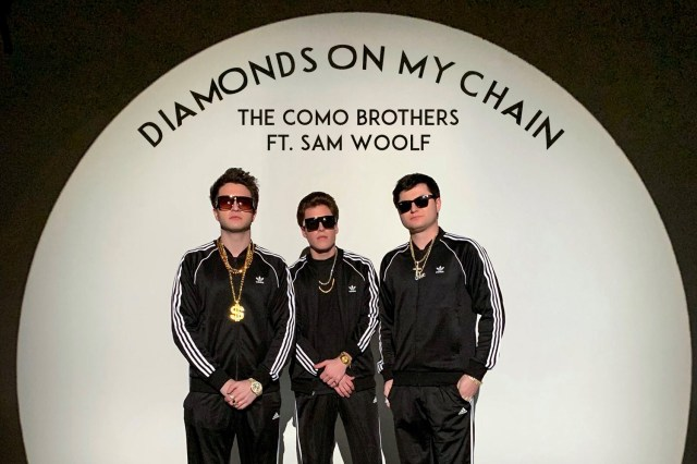 "#NewMusicAlert AND #VOTD: The Como Brothers w/Sam Woolf ""Diamonds On My Chain"""
