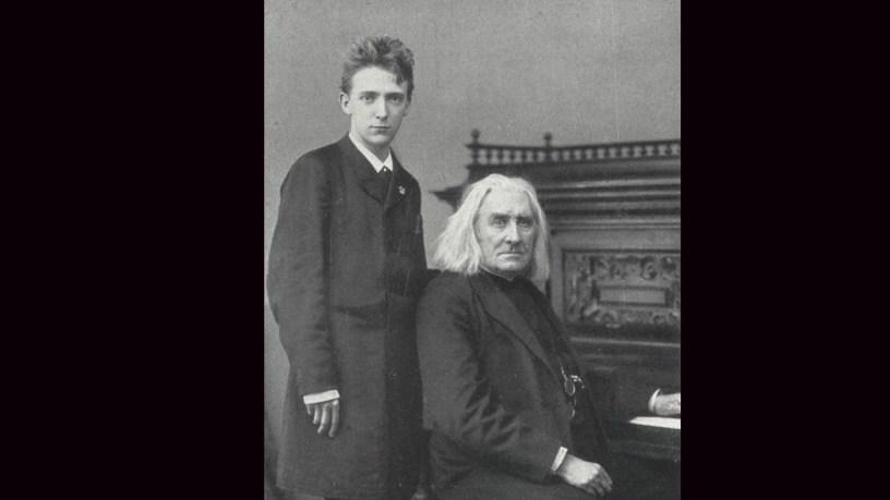 Bernhard Stavenhagen plays – St François de Paule: Marchant sur les Flots (2 Légendes, S.175) – Liszt