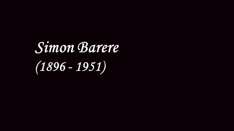 [1947] Simon Barere plays – No.5 (10 Preludes, Op.23) – Rachmaninoff