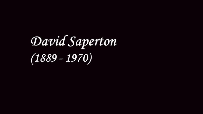 [1940] David Saperton plays – Triana (Iberia) – Albéniz – Godowsky
