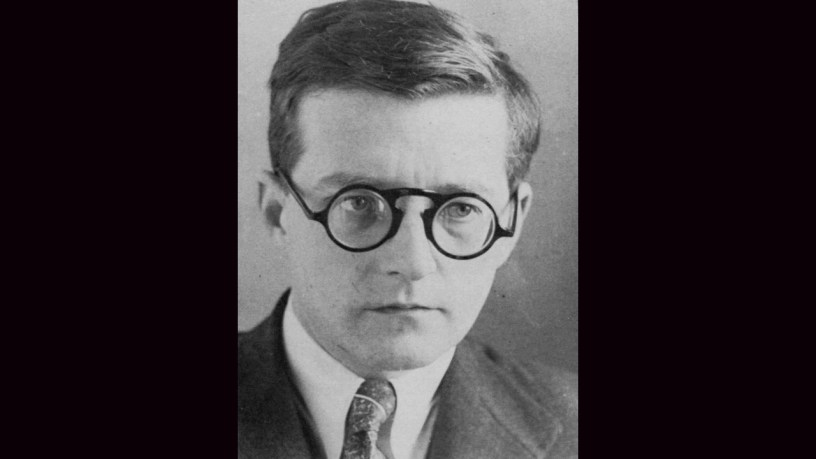 [1940] Dmitri Shostakovich plays – 3rd Movement, Scherzo (Piano Quintet, Op.57) – Shostakovich