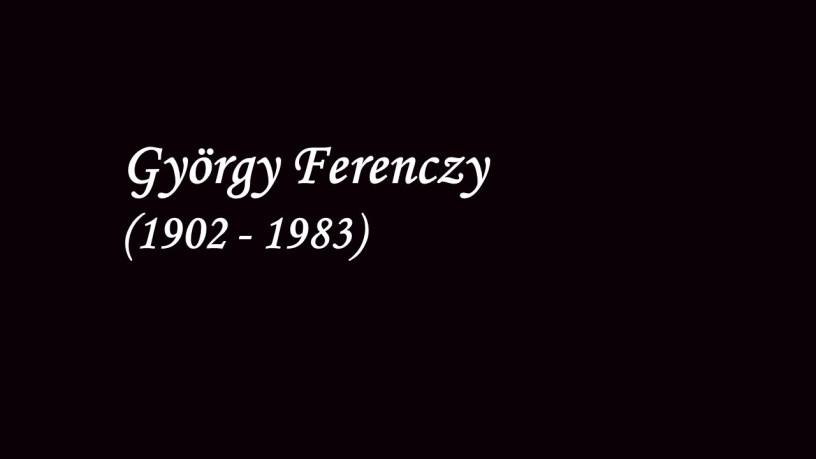 György Ferenczy plays – Kinderszenen (Op.15) – Schumann