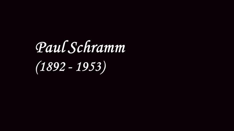 Paul Schramm plays – No.2 Aufschwung (Fantasiestücke, Op.12) – Schumann