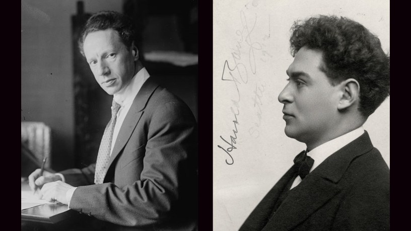 [1929] Ossip Gabrilowitsch & Harold Bauer plays – No.2 Valse (Suite No.1 for 2 Pianos) – Arensky