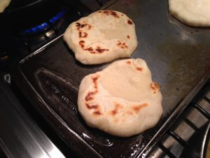 Simple and delicious recipe for griddled pita bread 2