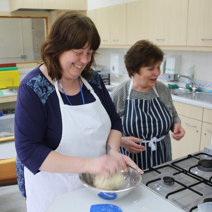 Improve your mental health by baking bread 3