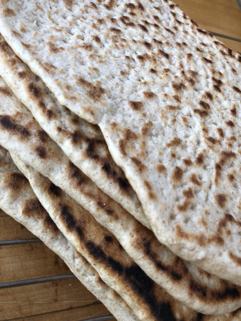 Easy recipe for delicious, Swedish Tunnbrod (thin bread) 2