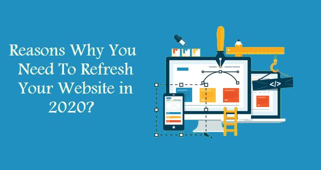 refresh your website in 2020