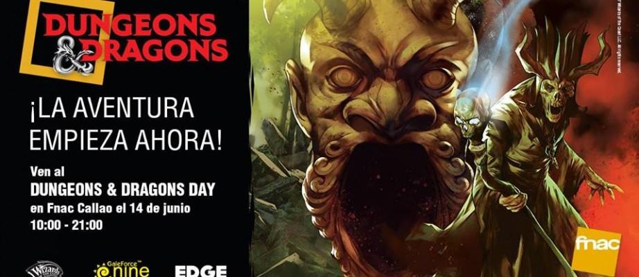 Rolazo! Dungeons and Dragons en directo… ¿y en la FNAC?